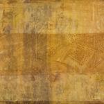 acrylic and Tyvek on wood