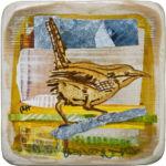 bird acrylic Tyvek